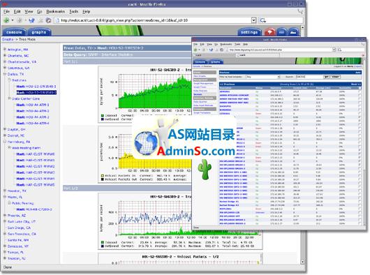 Cacti for Windows(网络流量监测图形分析工具)