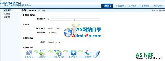 SmartAD Pro(网站广告管理系统)