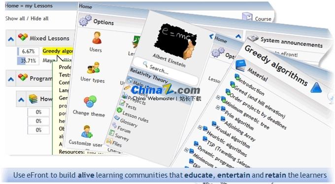 eFront在线学习系统